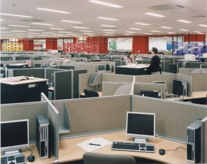 A typical contact center