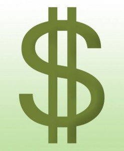 Dollar Sign (Vertical)
